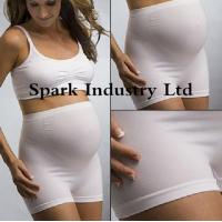 China Seamless Stretchable Maternity Briefs , Anti-Radiation Pregnant Clothing on sale