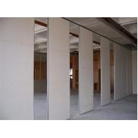China Folding Wooden Soundproof  Acoustic Movable Sliding Room Partition Wall For Auditorium on sale