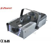 8*3w RGB LED Halloween Stage  Fog Machine 1200W, DMX Fog Machine  X-023 Manufactures