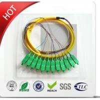 China LC / PC Multi Strand Fiber Optic Cable Customized Outer Sheath Material on sale