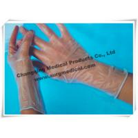 Surgical PVC Vinyl Examination Gloves Powdered / Powder Free Manufactures