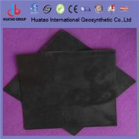 China Dounle textured HDPE geomembrane on sale