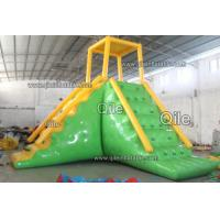 Giant Inflatable Water Sport PVC Tarpaulin Fabric For Seaside or Lake Manufactures