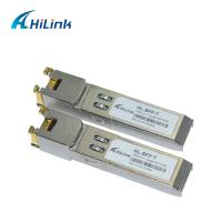RJ45 Port HL-SFP Optical Transceiver Module 1000 BASE -T SFP Gigabit Interface Converter Manufactures
