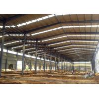 China Industrial Prefabricated Structural Steel Framing Warehouse Construction on sale