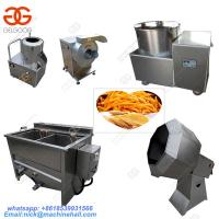 China Small Scale Potato Chips Making Machine|Automatic Potato Chips Production Line|Easy Operate French Fries Making Machine on sale