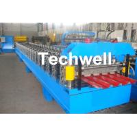 China IBR Roofing Sheet Roll Forming Machine / IBR Panel Forming Machine For Making Roof Wall Cladding on sale