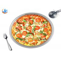 Quality Non Stick Circular Aluminum Cake Mould With Movable Bottom Customized for sale