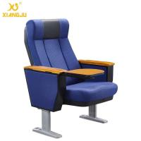Buy cheap Scratch-Resistant PU Molded Foam Auditorium Chairs Foladble Aluminum Feet With Table from wholesalers