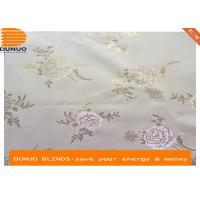 China Wall paper style jacquard roller blinds ,window shades on sale