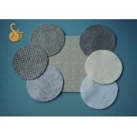 China Limestone 200gsm LOGO Dots Non Woven Material Needle Punched Polyester Felt on sale
