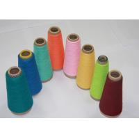 China Super Bright Spun Polyester Yarn For Knitting Socks Anti - Pilling AAA Grade on sale