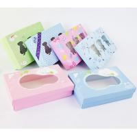 China Folded Paper Clothing Custom Packaging Boxes , Custom Size Shipping Boxes Durable on sale