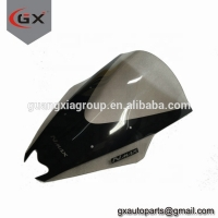 China Super Hi-Vision Motorcycle Body Kits Windshield NMAX Scooter Wind Screen/Wind Deflector/Wind Board 38CM on sale