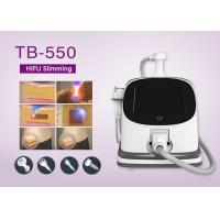 High Intensity Focused Ultrasound HIFU Slimming Machine / Wrinkle Removal Device 12*20mm Manufactures