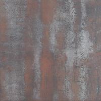 Red Rust Metal Look Tile 600x600mm, Metal Stone glazed Rustic Porcelain Tiles Manufactures