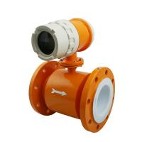 High quality Compact Type Electromagnetic Flow Meter to highest 15m/s flow rate Manufactures