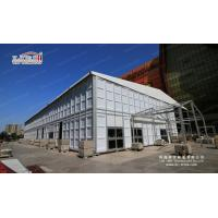 China High End Event Venue-double Decker Cube Structure Tent For 2000 Seaters on sale