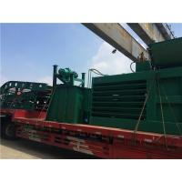 China Safe Reliable Horizontal Baling Machine / Waste Paper Baler With Cutting Blades on sale
