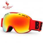 UV Protect Anti Fog Professional Mirrored Ski Goggle with FDA Certificate Manufactures