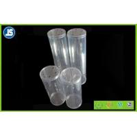 Flexible Clear Plastic Packaging Cylinder With Stamping Print For Cosmetic Manufactures