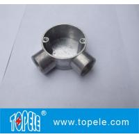 TOPELE 25mm / 32mm BS Electrical Conduit Galvanized Aluminum Circular Junction Box For Conduit Fittings Manufactures