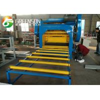 China Automatic Sheet Perforation Machine For Gypsum Ceiling Tiles / Fiber Cement Board on sale