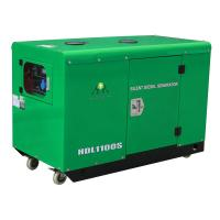 10KW / 11KW 2 Cylinder Silent / Soundproof Air Cooled Generators Manufactures