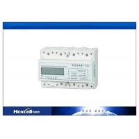 3 Phase 4 Wire DIN Rail Energy Meter / CT kWh 0.8Un ~ 1.15Un Working Voltage Manufactures