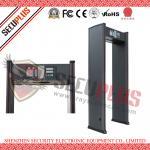 SPW-IIIC Door Frame Metal Detector , 18 Zones Walk In Metal Detector Alarm Counter Manufactures
