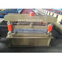 Roofing Cladding Sheet Making Machine / Cold Roll Forming Machine Easy Operate Manufactures