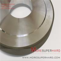 China Resin bond diamond and cbn tools 14A1 Resin bond SCD diamond grinding wheels Alisa@moresuperhard.com on sale