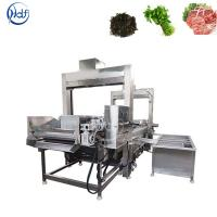 Automatic Steam Heating Vegetable Blanching Machine For Potato Chips Manufactures