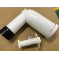 Injection Processing Toilet Drain Pipe 4 Inch PP Elbow Wall Toilet Accessories Manufactures