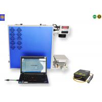 Fiber Portable Laser Marking Machine , Portable Laser Etching Machine High Precision Manufactures