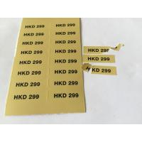 Buy cheap Customized fragile paper label color tags with Self-adhesive label from wholesalers