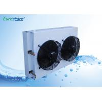 Outdoor Condensing Unit Chiller Heat Exchanger 0.105mm Fin Thickness Manufactures