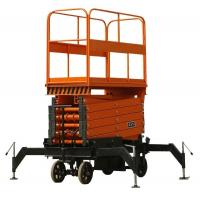 CE diesel hydraulic lifting platform for 2T load capacity with stretchable table Manufactures