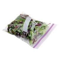 Transparent OPP Plastic Vegetables Packaging Bags with Zipper Manufactures