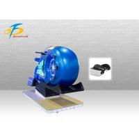 Blue Coin Operated Real VR Motorbike Simulator With Deepoon E3 Glasses Manufactures
