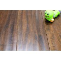 "5"" espresso hand scraped acacia engineered flooring Manufactures"
