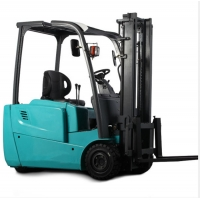 China Fire Extinguisher Battery 3 Wheel 1.6T Electric Forklift Truck on sale