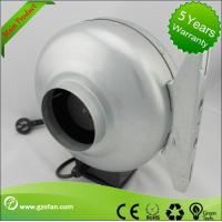 galvanised Sheet Steel Circular Inline Fan Insulation Class F The Wood Shop Manufactures