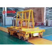 China Top Leader KPX Series Motorized Transfer Platform Truck on Curved Rails on sale