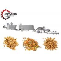 Quality Kibble Dog Pet Food Production Line Twin Screw Fish Feed Processing Line for sale
