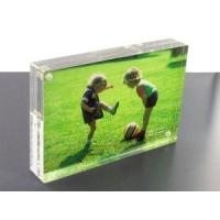 SGS Clear Custom Acrylic Products Digital Photo Frame To Display Manufactures