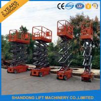 4m - 14m Lifting Height Electric Hydraulic Scissor Lift Tables 3.2 km/h Travel speed Manufactures