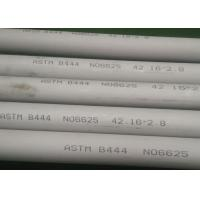 42.16 * 2.8mm Brushed Nickel Tubing , Anti Aqueous Corrosion Inconel 625 Seamless Tube Manufactures