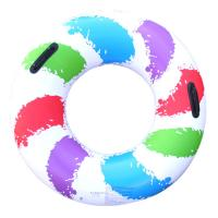 Cute Single Round Pvc Inflatable swimming ring Manufactures