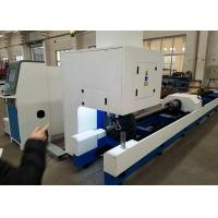 Customized Color Metal Tube Cutting Machine , 1000W 500W Tube CNC Pipe Cutter Manufactures
